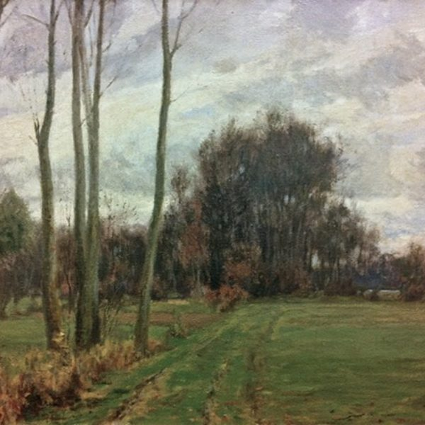 Charles Francis Browne's Autumn Landscape