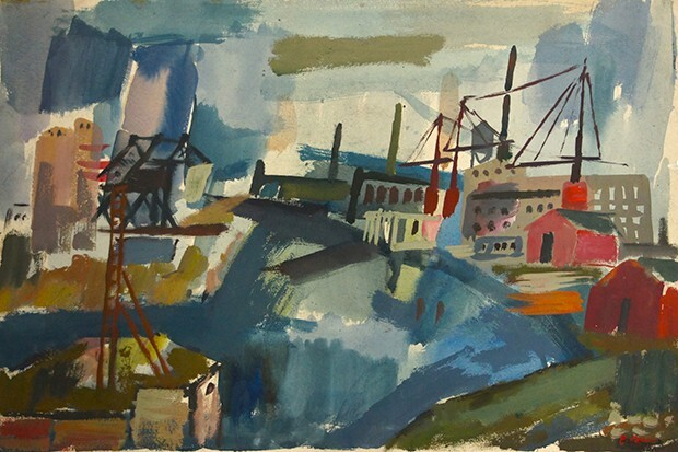 Untitled (River view)