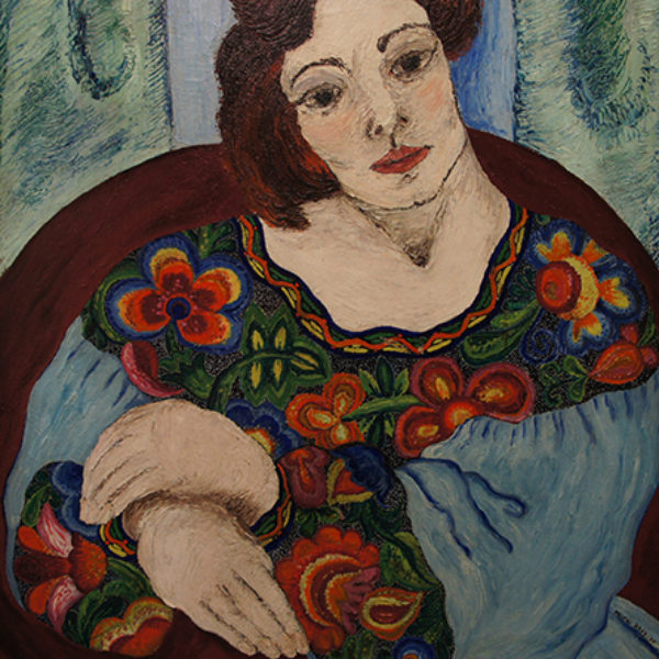 Fritzi Brod's Untitled (Portrait of a woman)