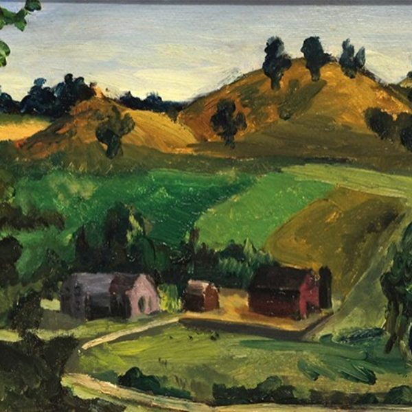 Fred Biesel's Untitled (Landscape)