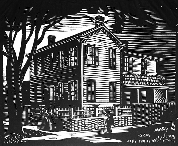 History of Illinois in Woodcuts