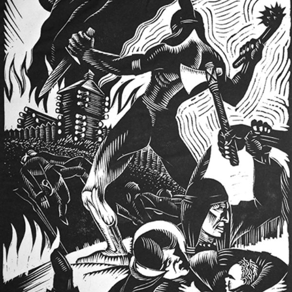 Charles Turzak's History of Illinois in Woodcuts