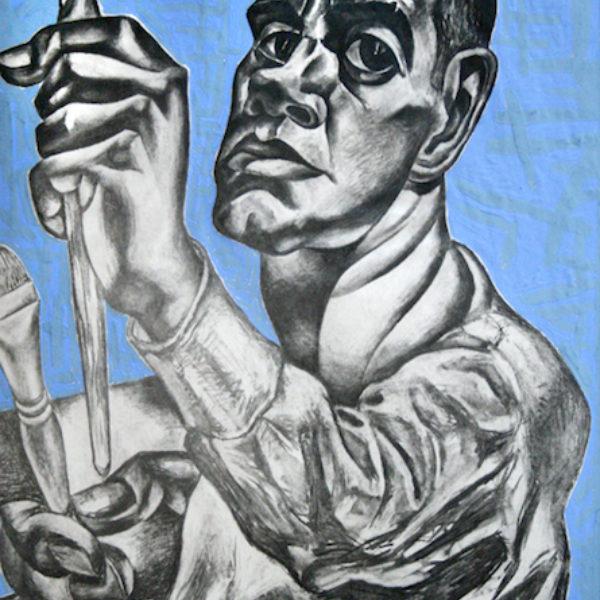 Rudolph Weisenborn's Untitled (Self-portrait)
