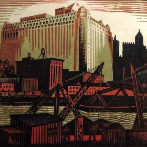 Charles Turzak's North Bank of the Chicago River