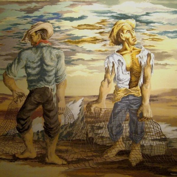 Mitchell Siporin's Mexican Fishermen