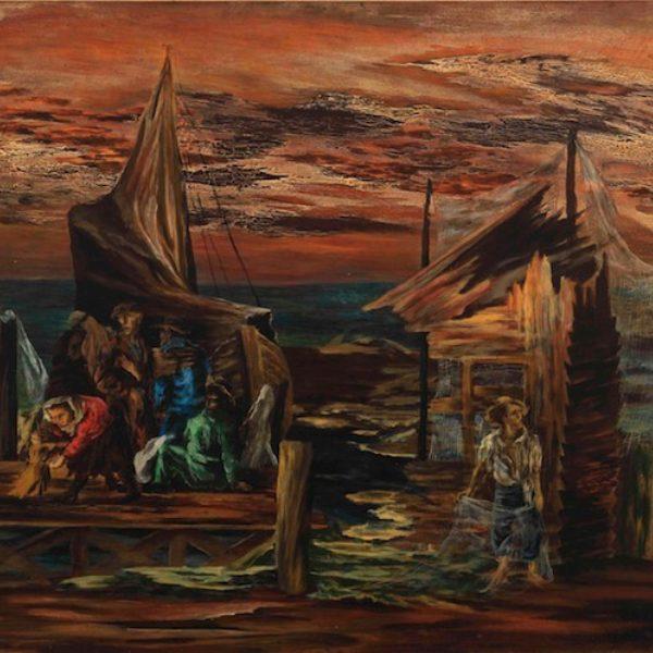 Mitchell Siporin's Flight by Water