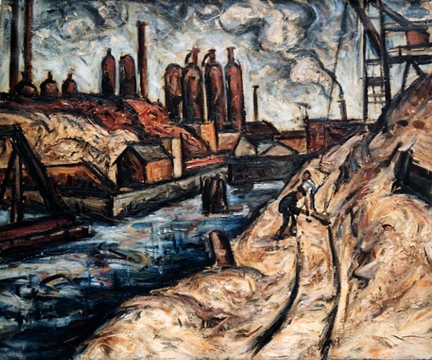 Untitled (Factory on the river)