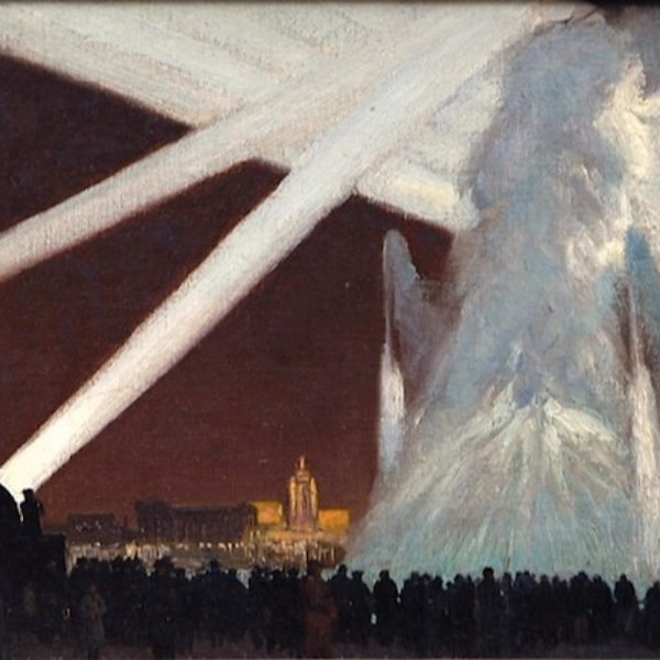 Rudolph Ingerle's Fountain and Searchlights, Century of Progress