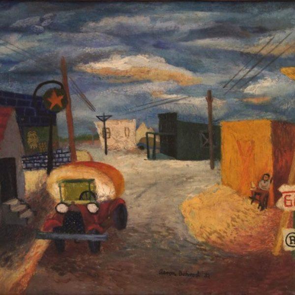 Aaron Bohrod's Street in Oklahoma