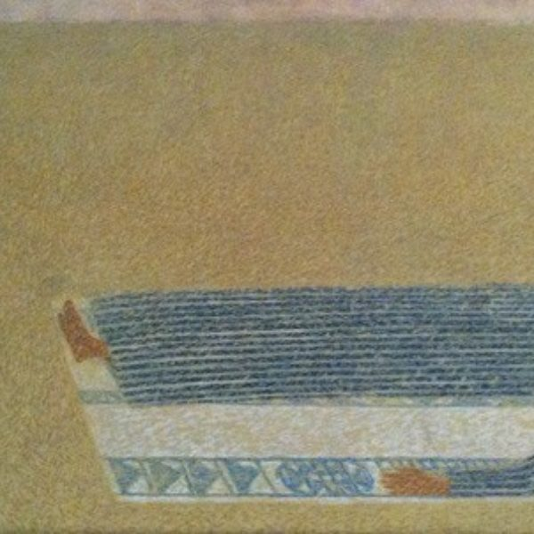 Margo Hoff's Untitled (Desert road)
