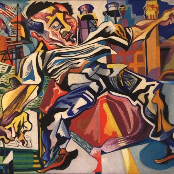 Bernece Berkman's Untitled (Man in the city)