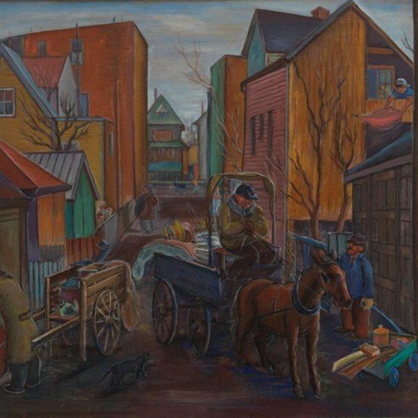 A. Raymond Katz's Chicago Street Scene