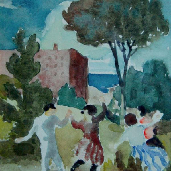 Gustaf Dalstrom's Untitled (Spring dance)