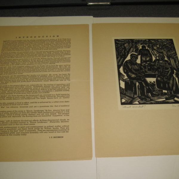 William Jacobs's Album of block prints