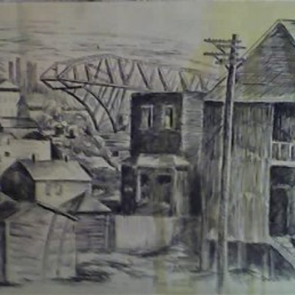 Fred Biesel's Untitled (Cityscape)