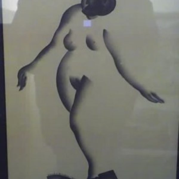 William S. Schwartz's Untitled (Female nude)