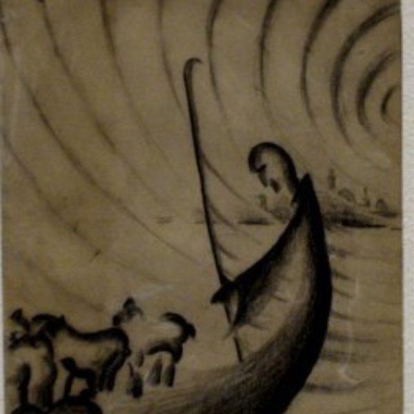 Vinol Hannell's Untitled (from sketchbook)