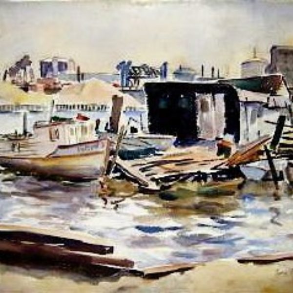 Tunis Ponsen's Untitled (Harbor scene)
