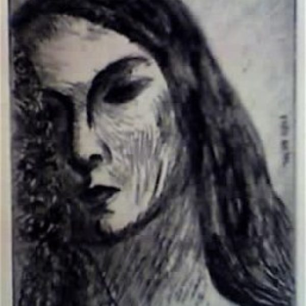 Fred Biesel's Untitled (Head of a woman)