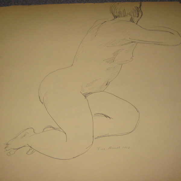 Fred Biesel's Untitled (Nude turning)
