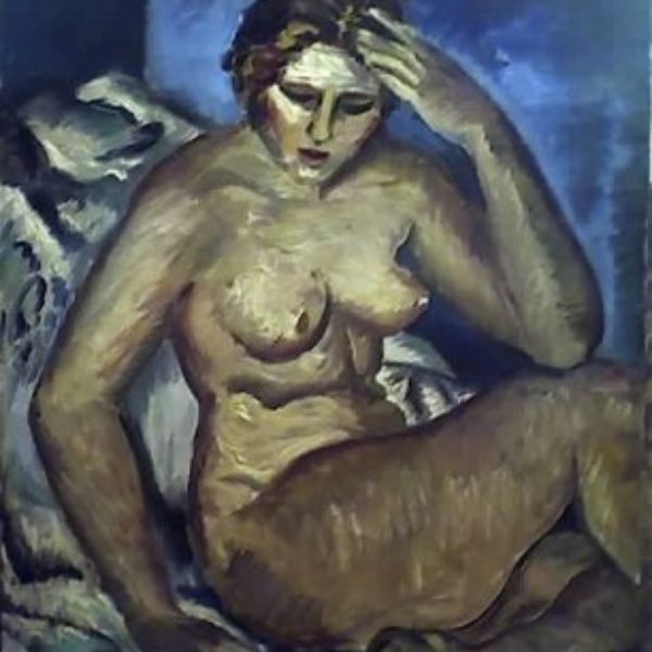 Fred Biesel's Untitled (nude)