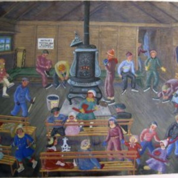 Ethel Spears's Untitled (Warming room for skaters)
