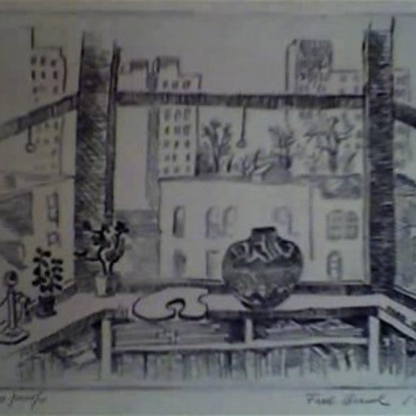 Fred Biesel's Untitled (Window still life)