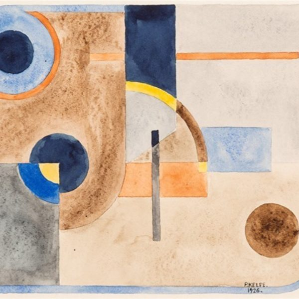 Paul Kelpe's Untitled (Abstract)