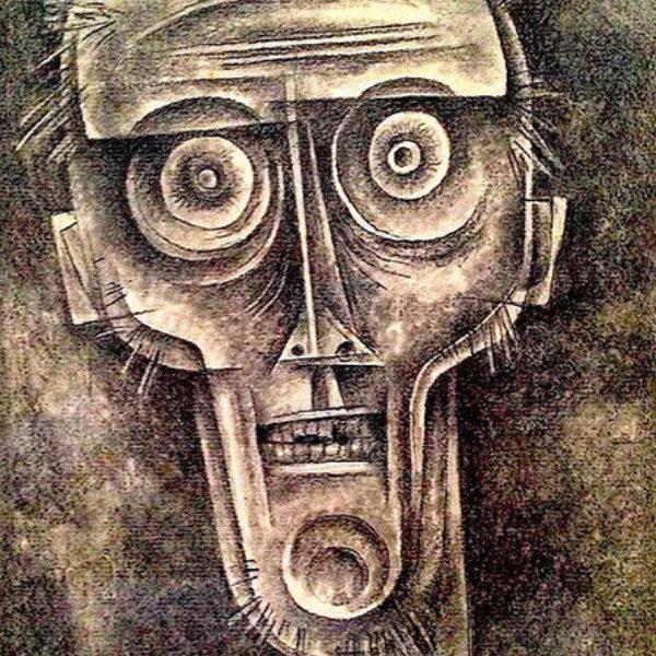 Paul Kelpe's Self-Portrait