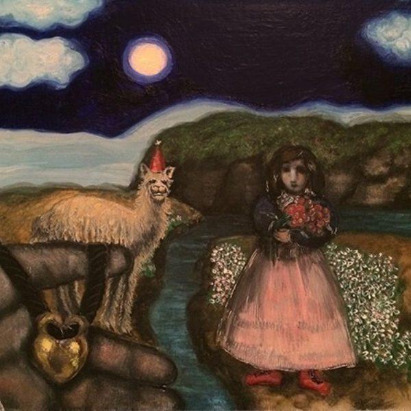 Julia Thecla's Girl and Llama
