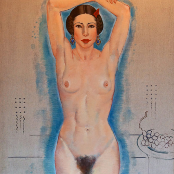 Macena Barton's Self-Portrait