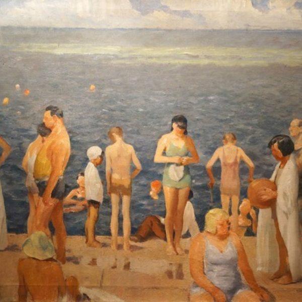 Sam Malmberg's Lakefront Bathers