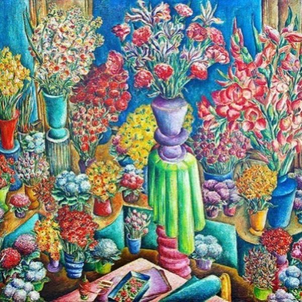 Florence Arquin's Untitled (Still life)