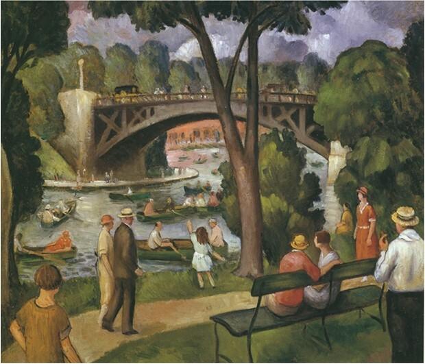 The Bridges, South Pond (Lincoln Park)