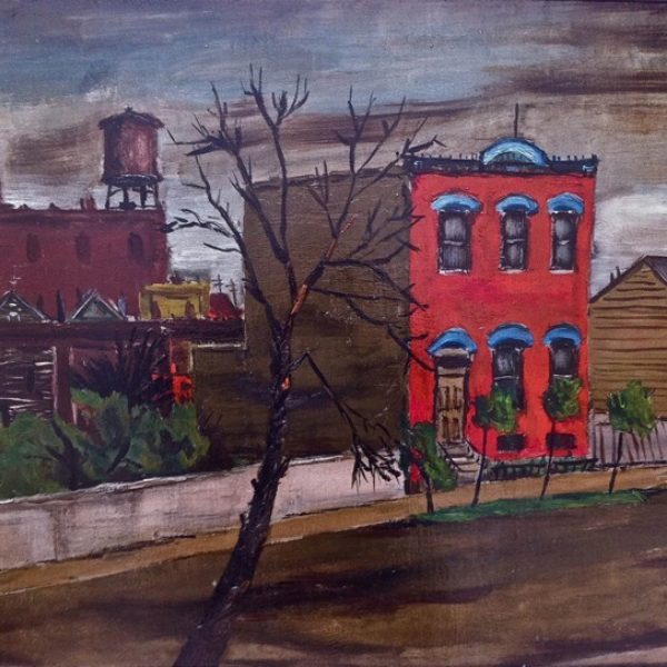 Copeland Burg's Chicago Scene (Pilsen or Heart of Chicago Neighborhood)