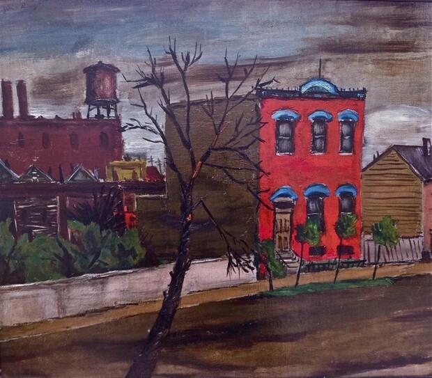 Chicago Scene (Pilsen or Heart of Chicago Neighborhood)