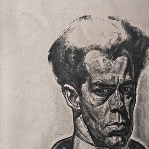 Stanislaw Szukalski's Portrait of Rudolph Weisenborn