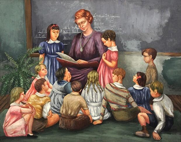 Garnett's First Grade Class at the U of C Lab School