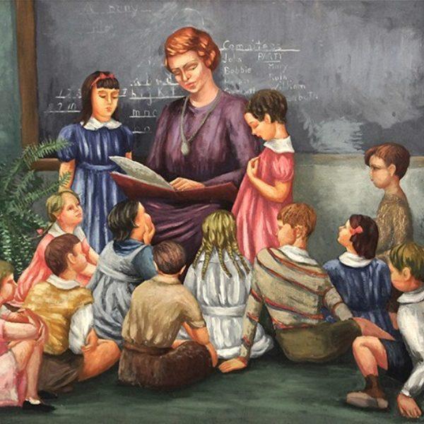 Frances Strain's Garnett's First Grade Class at the U of C Lab School