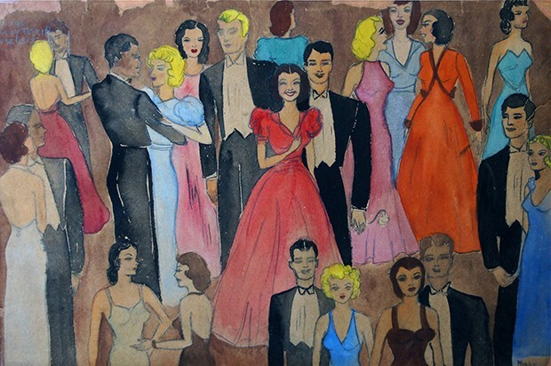 Untitled (Party scene 2)