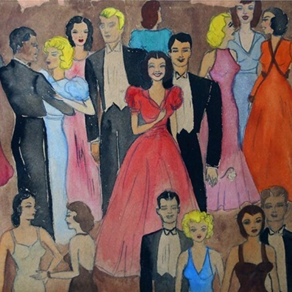 Molly Potkin's Untitled (Party scene 2)