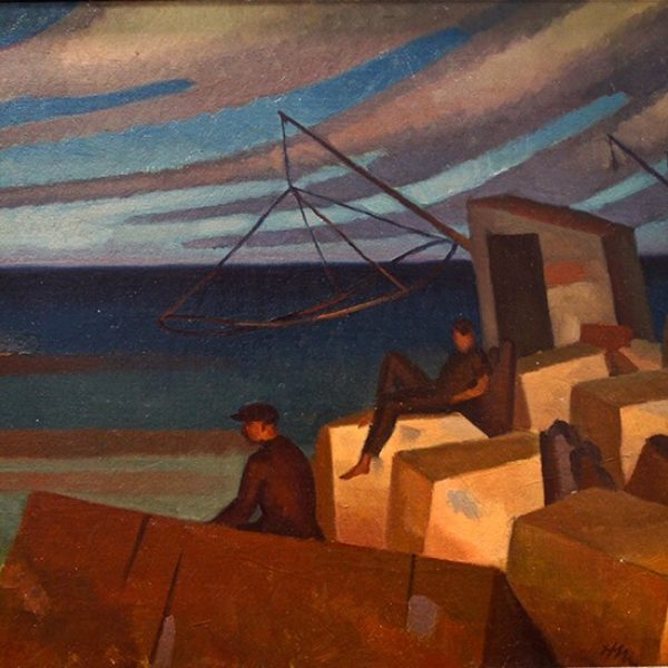 Herman Menzel's Untitled (Smelt fishing)