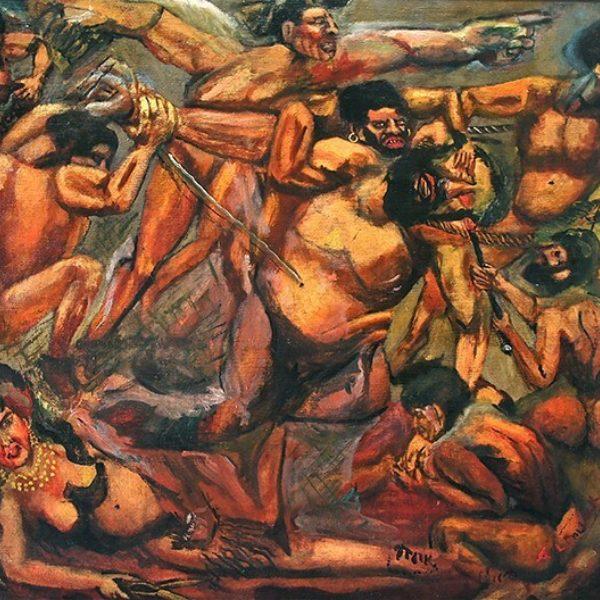 Abraham Pollack's Capture of Samson