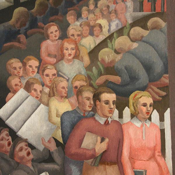 Vinol Hannell's Untitled (Procession)