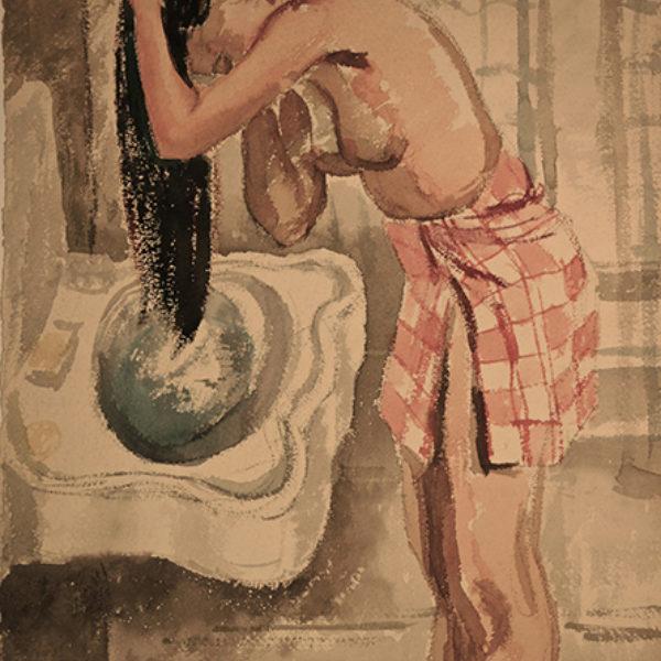Natalie Henry's Rowena Washing Her Hair
