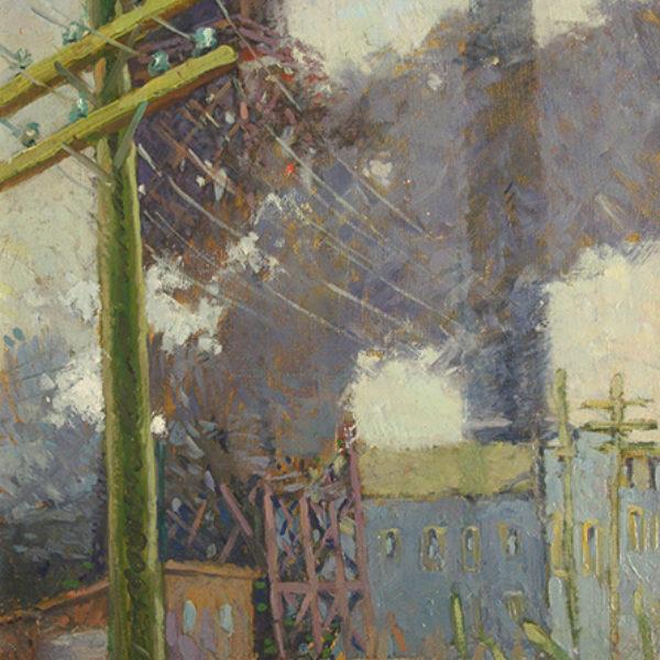 Frederic Grant's Telephone Poles