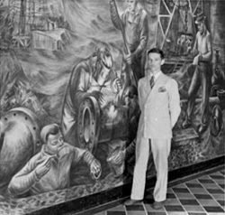 Britton mural
